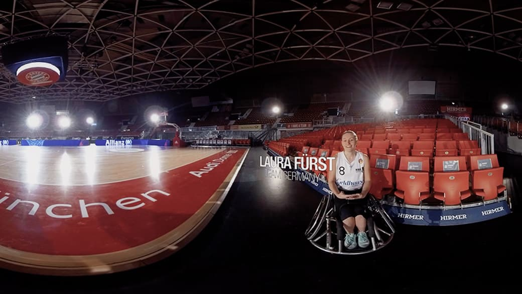 Allianz Wheelchair 360 Video